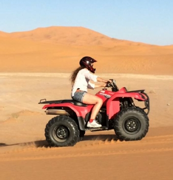 Quad and Buggy in Merzouga Dunes